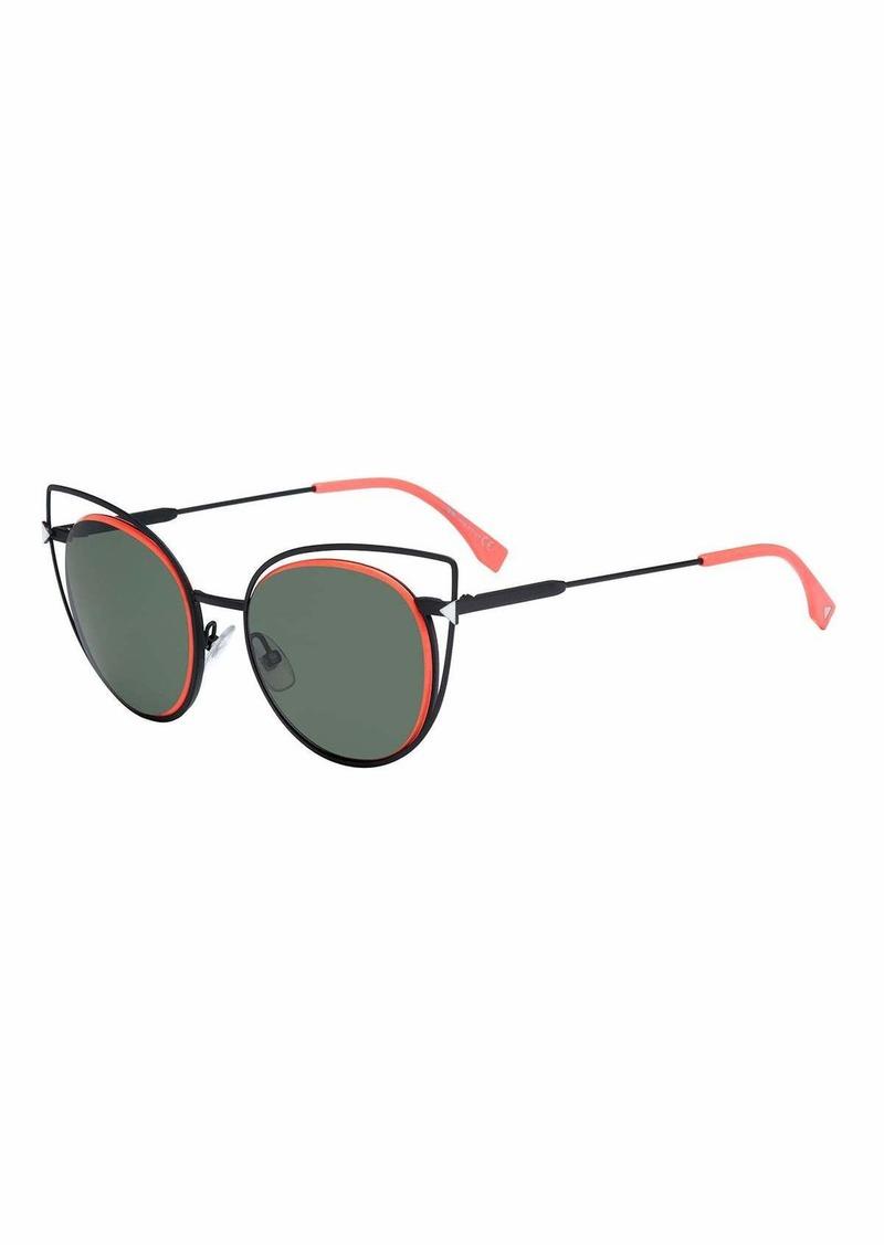 f73379a00e0 On Sale today! Fendi Round Wire-Rim Sunglasses - Shop It To Me