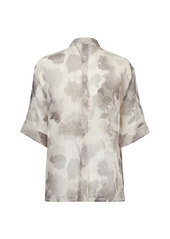 Fendi Shady Flowers Organza Blouse