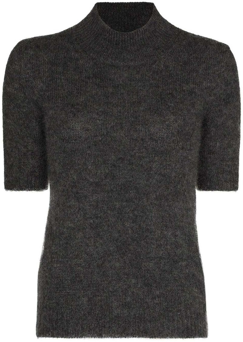 Fendi short-sleeve knitted top