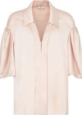 Fendi V-neck silk blouse