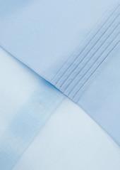 Fendi Silk-organza And Cotton-poplin Blouse
