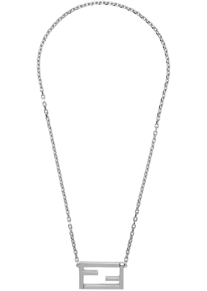 Silver 'Forever Fendi' Magnetic Necklace