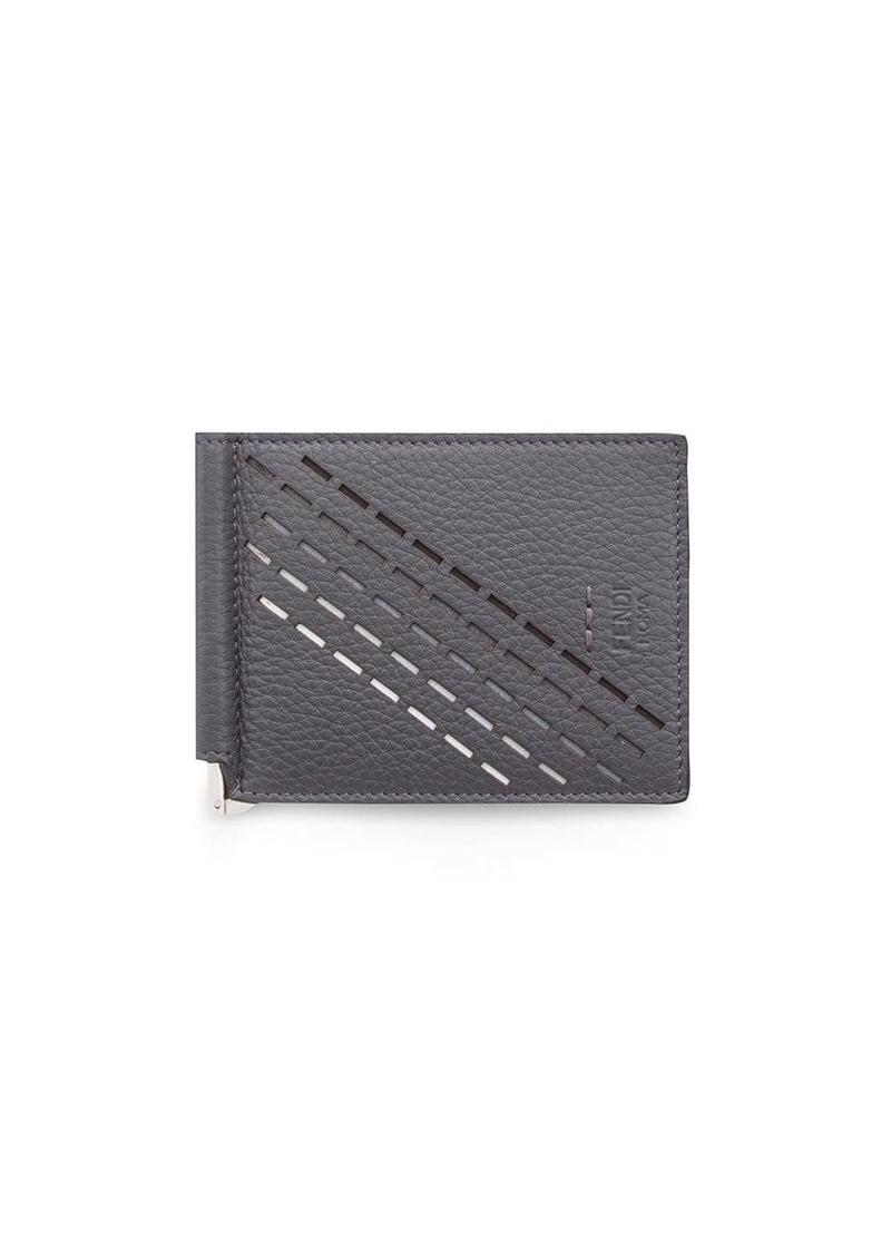 Fendi slim money-clip wallet