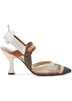 Fendi slingback court shoes