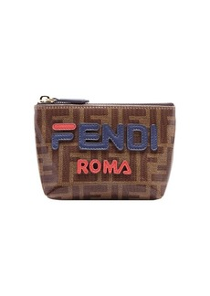 FendiMania small logo pyramid wallet