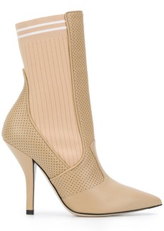 Fendi sock-fit pointed boots