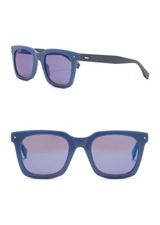 Fendi 49mm Square Sunglasses
