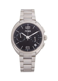 Fendi Stainless Steel Chronograph Watch