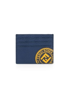 Fendi Stamp Leather Card Case