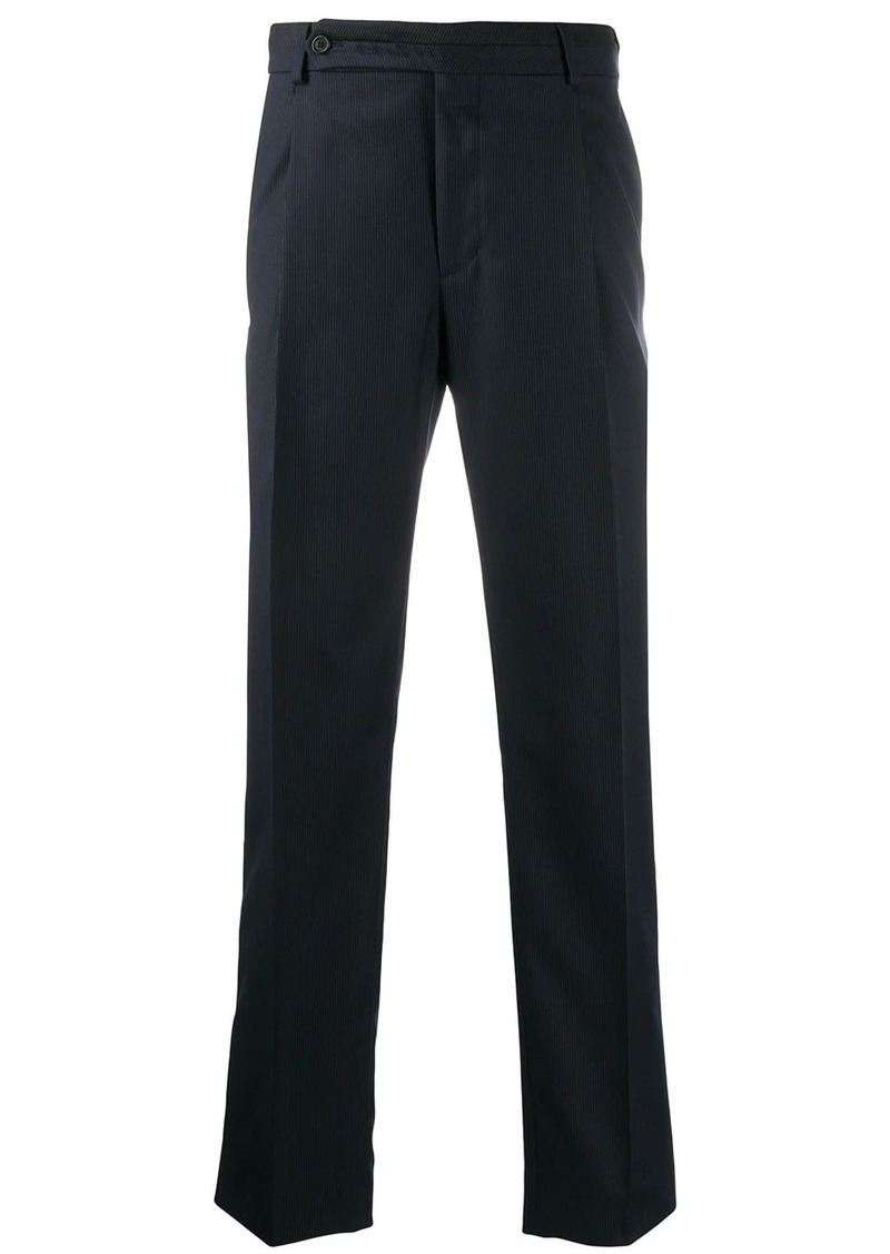 Fendi stitched details tailored trousers