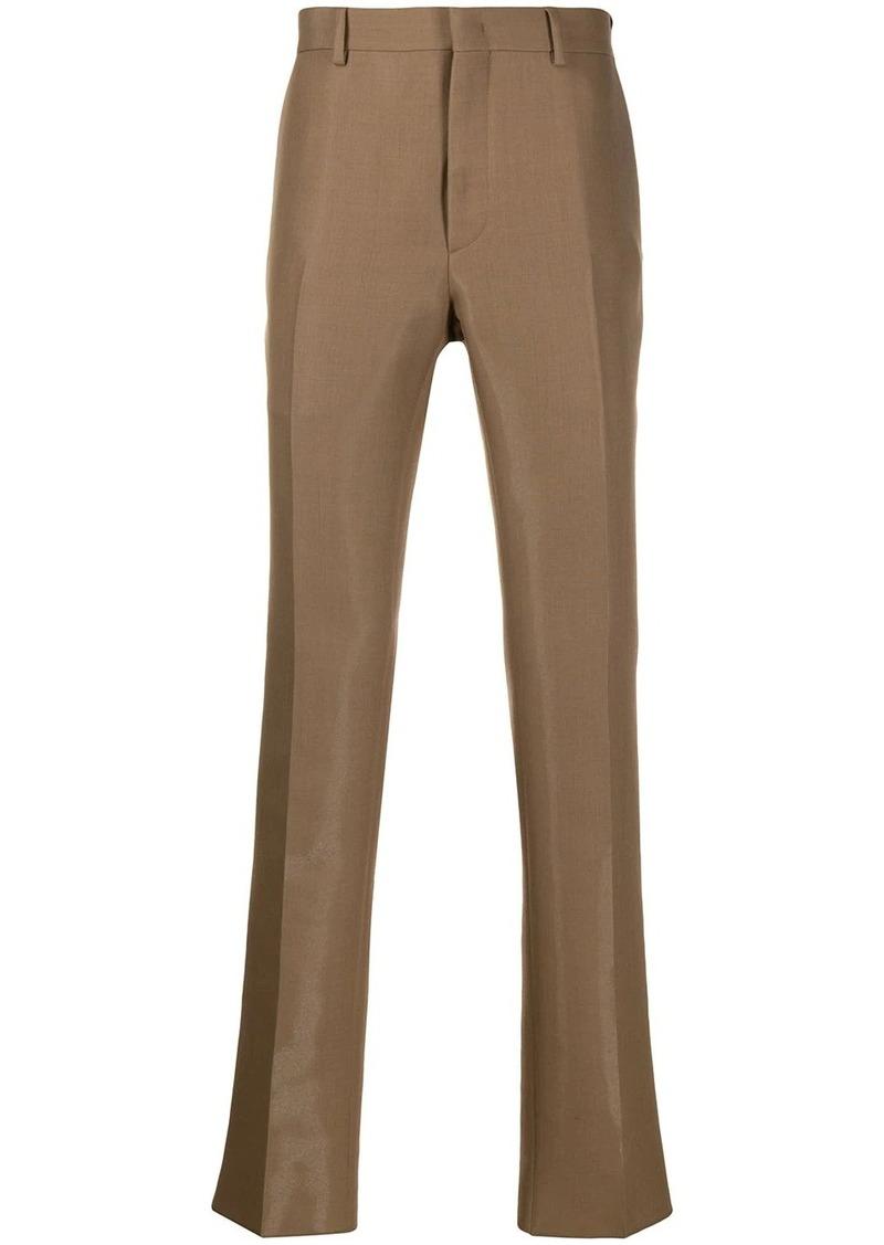 Fendi straight-leg wool trousers