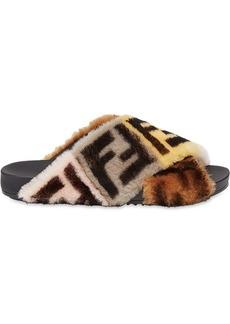 Fendi strapped flat sandals