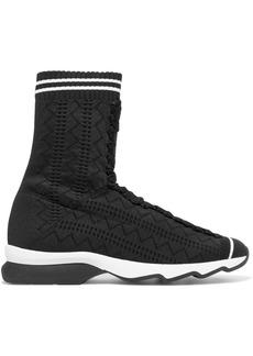 Fendi Stretch-knit Sneakers