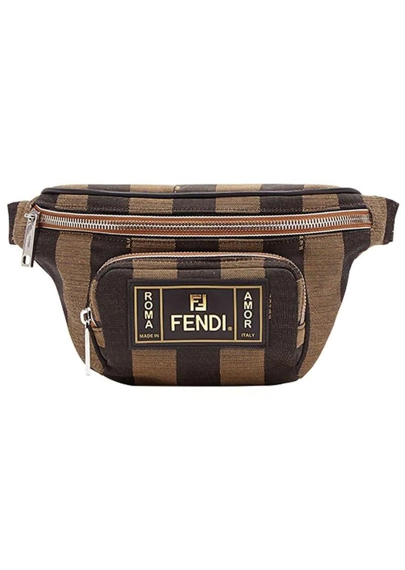 Fendi striped belt bag