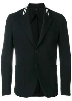Fendi striped lapel blazer