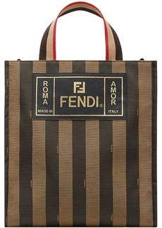 Fendi striped tote bag