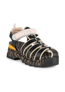 Fendi T-Rex Sandals