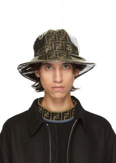 Tan & Brown 'Forever Fendi' Bucket Hat