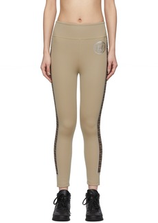 Tan 'Forever Fendi' Leggings