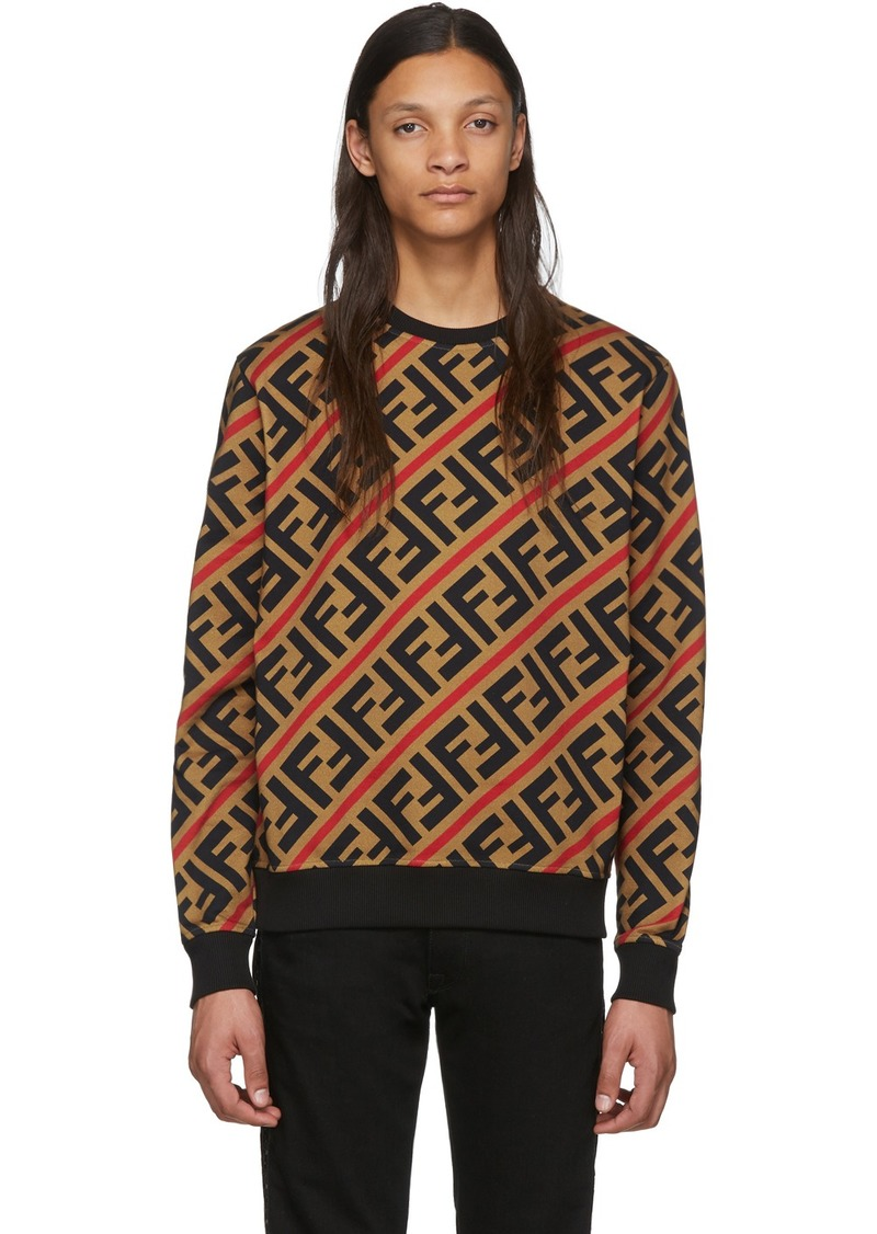 Tan 'Forever Fendi' Sweatshirt