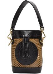 Fendi Tan Mini Mon Trésor Bucket Bag