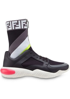 1d8c4ba1d Fendi Fendi Men's Logo Wool Sock Sneakers | Shoes