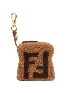 Fendi Toast FF logo charm