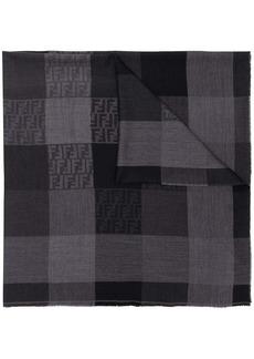 Fendi tonal FF check shawl