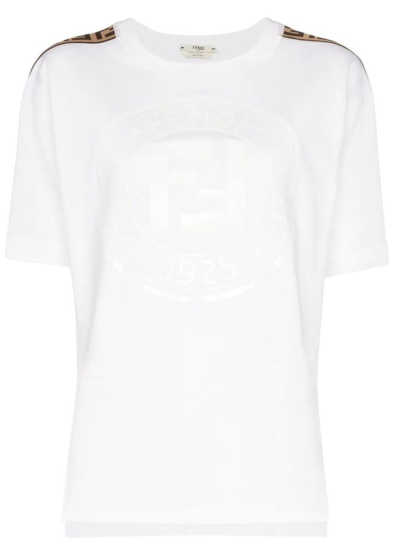 Fendi tonal Roma logo print T-shirt