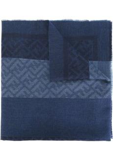 Fendi tonal woven scarf