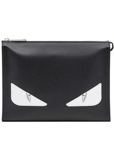 Fendi top zip clutch bag