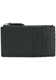 Fendi top zip wallet