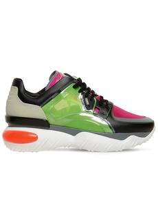 Fendi Transparent Running Low Top Sneakers