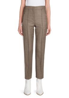 Fendi Tweed Cigarette Trousers