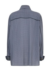 Fendi vichy pattern shirt