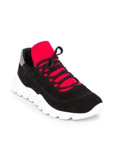 Fendi Vocabulary Logo Sneakers