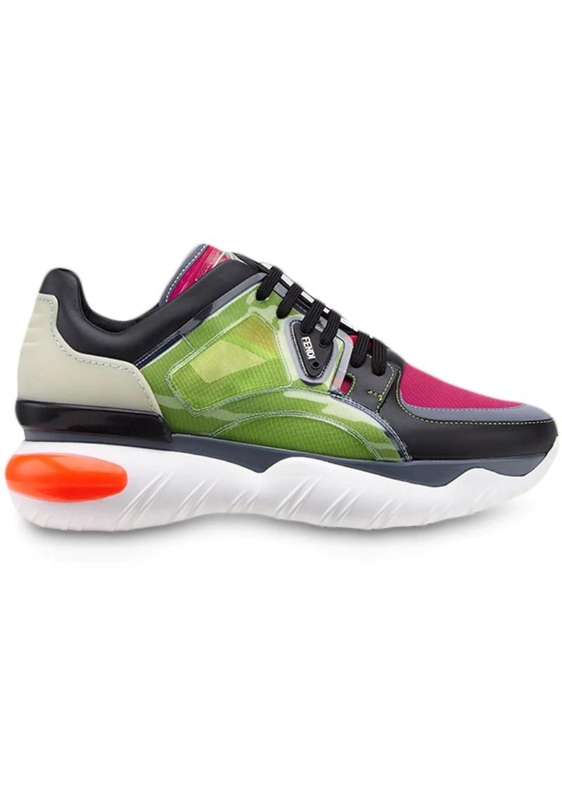 Fendi wavy sole sneakers