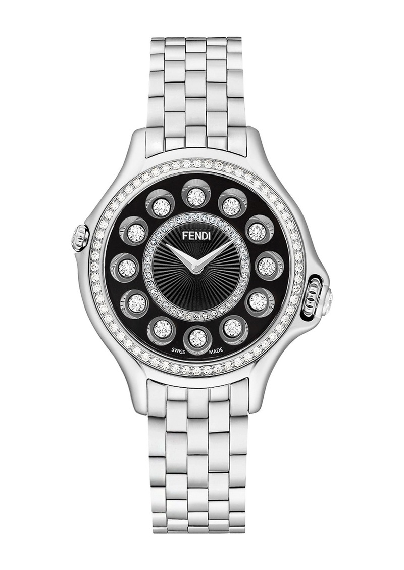 Fendi Women's Crazy Carats Quartz Bracelet Watch, 33mm