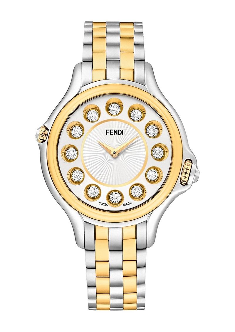 Fendi Women's Crazy Carats Quartz Bracelet Watch, 38mm