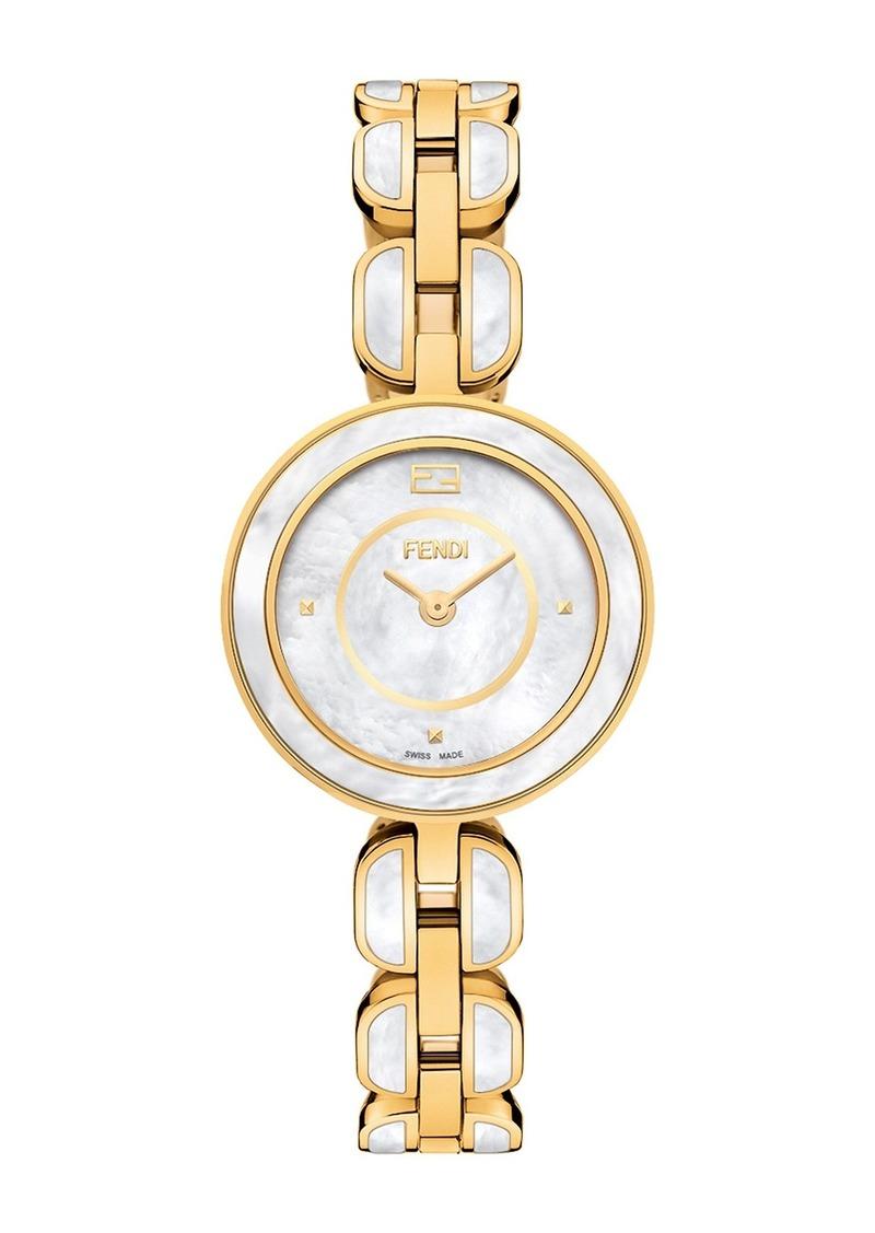 Womens Fendi My Way Swiss Quartz Two-Tone Bracelet Watch, 28mm