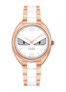 Women's Momento Fendi Bugs Quartz Bracelet Watch, 34mm