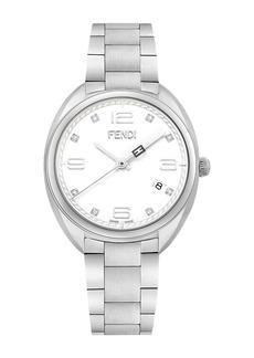 Fendi Women's Momento Swiss Quartz Diamond Bracelet Watch, 34mm - 0.04 ctw