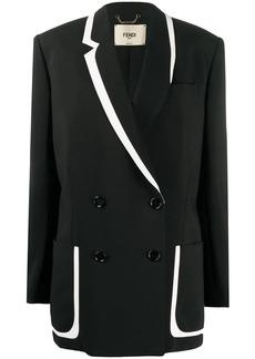 Fendi x Joshua Vides double-breasted blazer