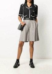 Fendi x Joshua Vides contrast-trim shirt