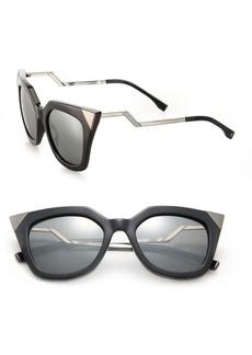 Fendi Zig-Zag 52MM Cat Eye Sunglasses