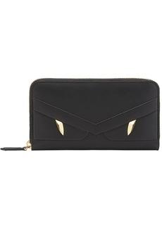 Fendi zip-around appliqué wallet