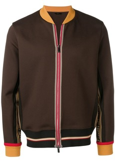 Fendi zipped bomber jacket