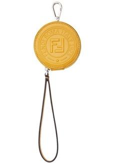 Fendi zipped coin keyring
