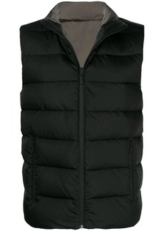 Fendi zipped padded gilet