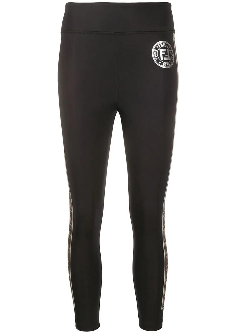 Fendi Zucca pattern leggings